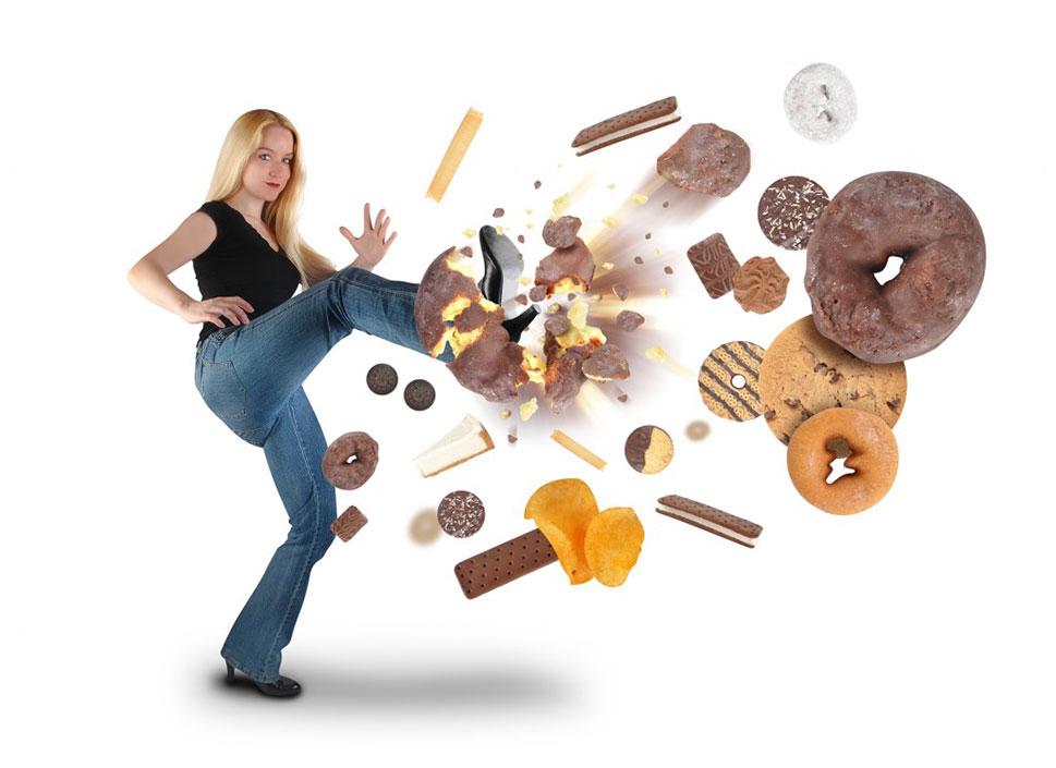 Huyendo de los postres para controlar la diabetes
