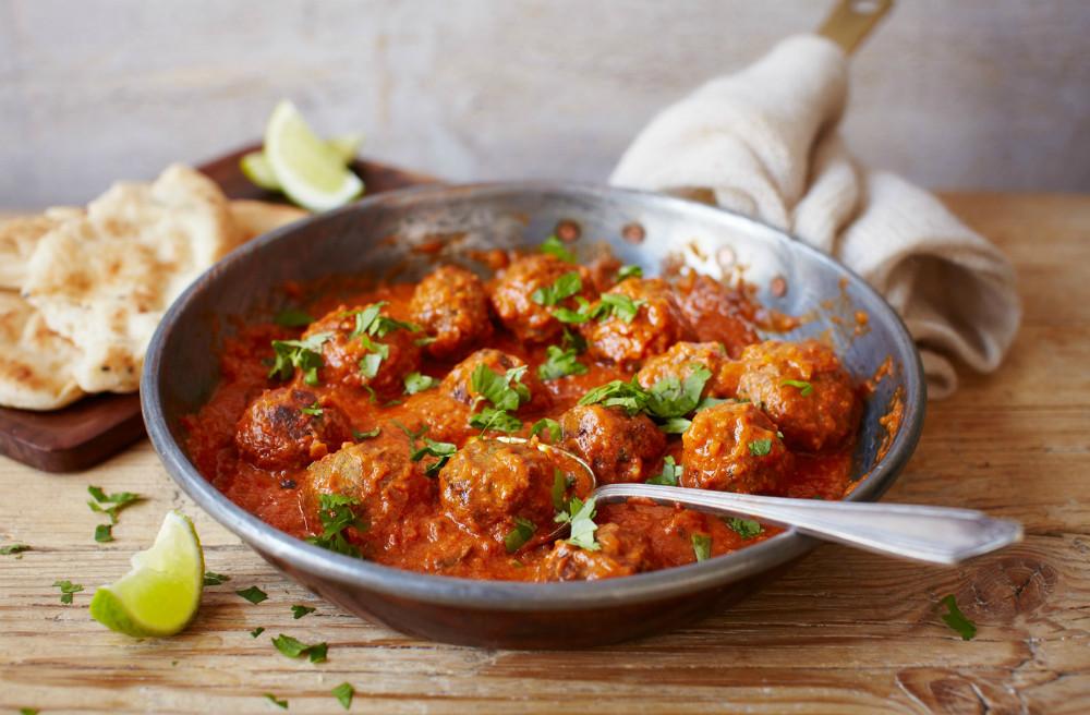 Receta de curry de cordero