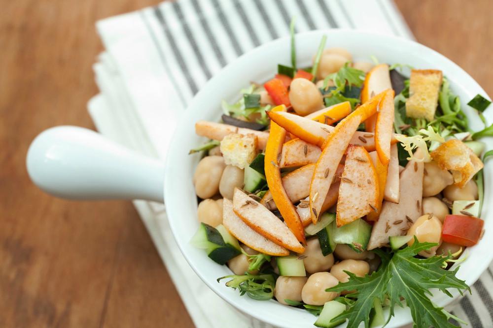 Ideas para ayudarle a cumplir con su plan de comidas en el almuerzo