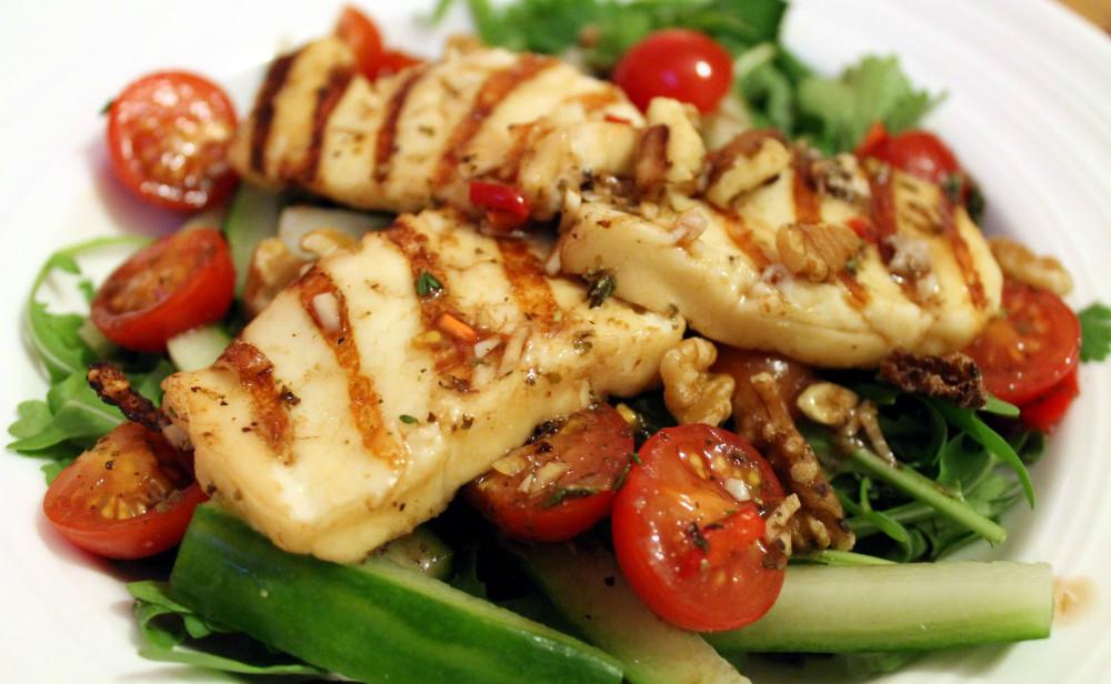 Receta de ensalada de chorizo y pollo
