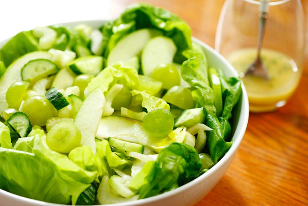 Receta de ensalada de verano verde especial