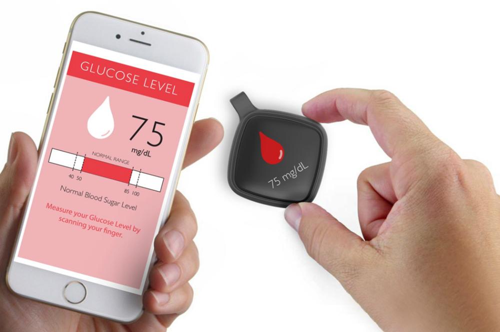Flore es un diseño tecnológico que mejoró la tecnología de la diabetes. ¡No mas pinchazos en el dedo!