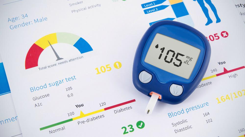 Diga que si a una prueba de prediabetes