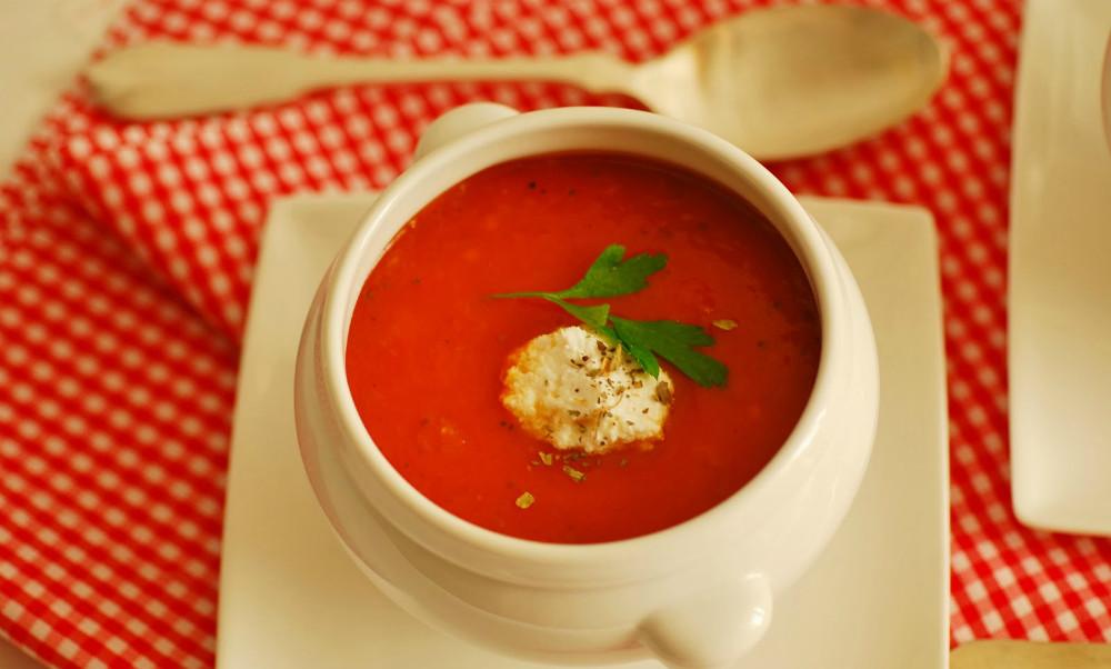 Receta de sopa de queso de soja agridulce