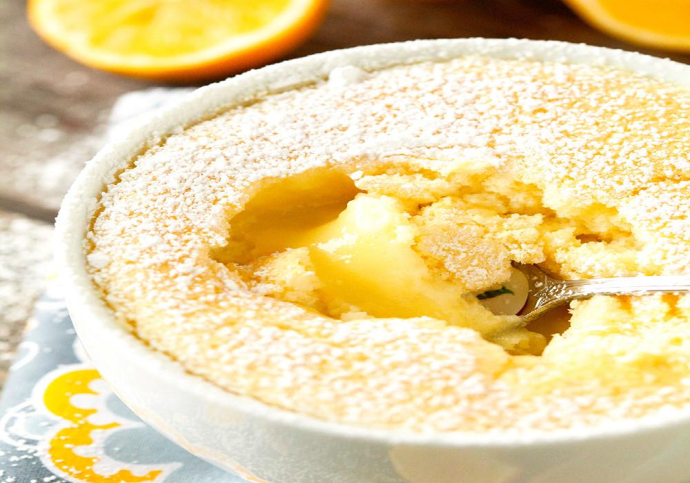 Receta de souffle de limón