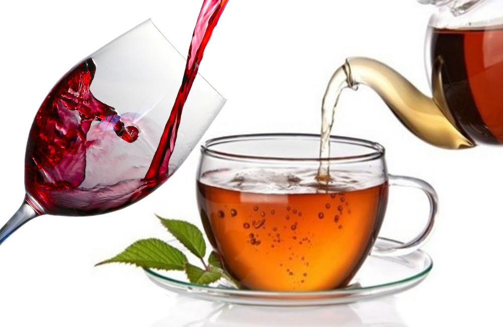 Beber té y vino tinto reduce el riesgo de desarrollar diabetes tipo 2
