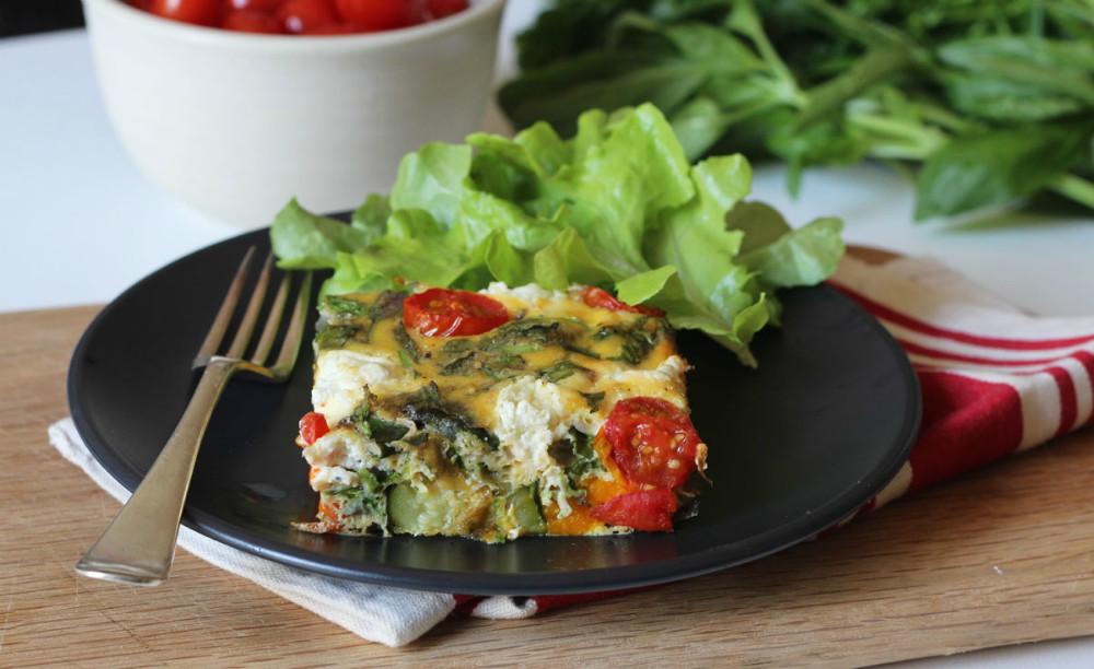 Receta de verduras al horno gratinadas