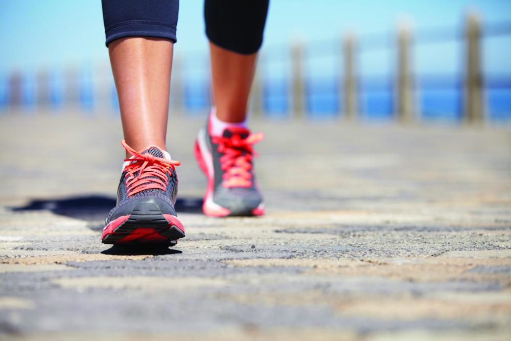 Caminar para controlar la diabetes