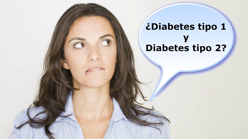 Las diferencias que debe saber entre la diabetes Tipo 1 y diabetes Tipo 2