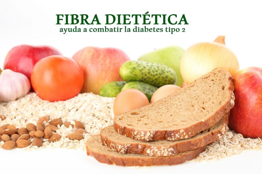 Una dieta alta en fibra puede ayudar a combatir la diabetes tipo 2