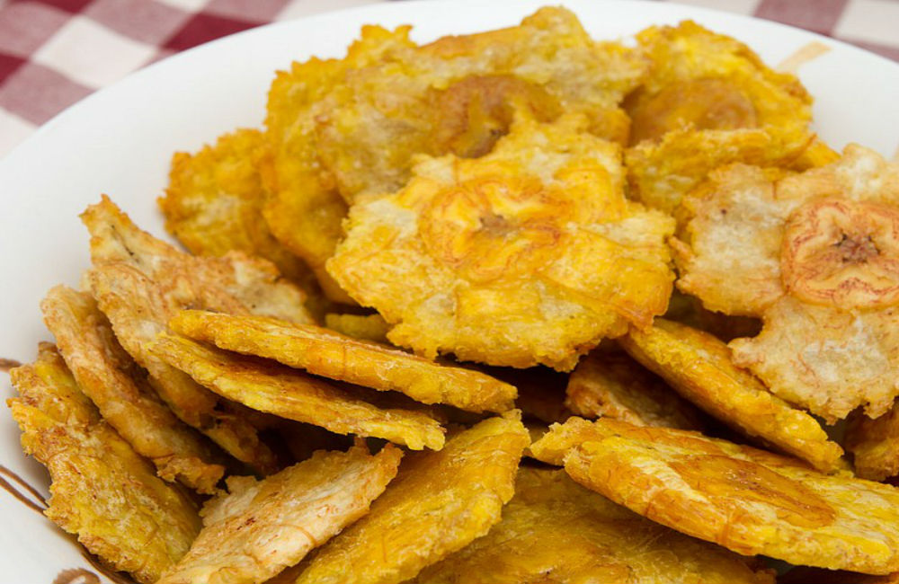 Receta deTostones de Puerto Rico (plátanos fritos)