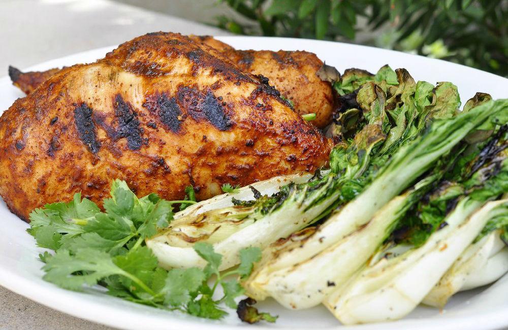 Receta de pechugas de pollo con especias