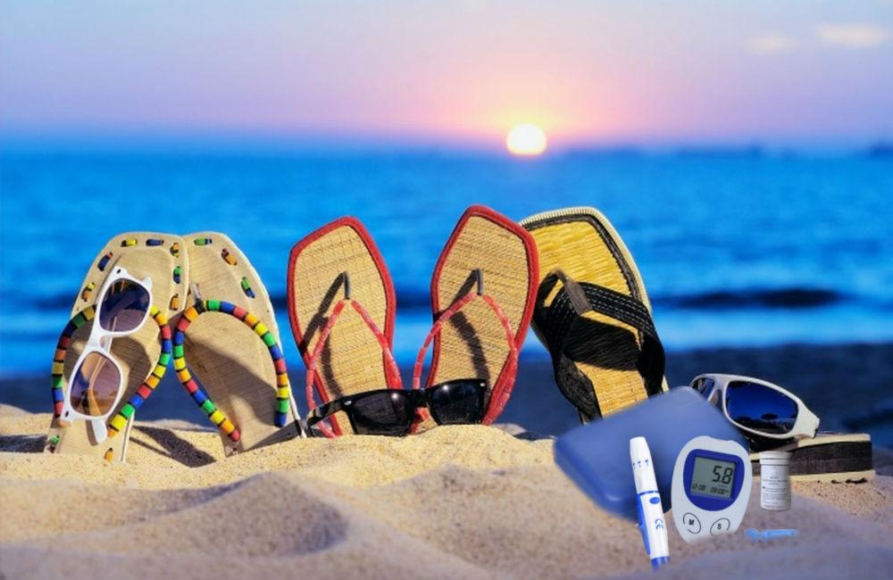 Guía para disfrutar del verano y viajar con diabetes sin riesgos